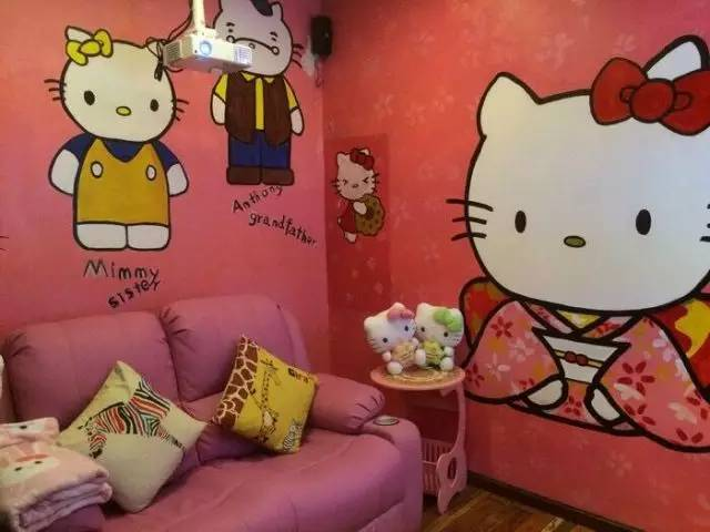 Hello Kitty主题包间