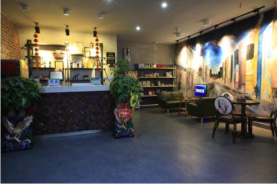 威动宜章县时光漫步咖啡厅